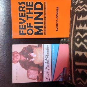 2 memoir type books lot 🖤